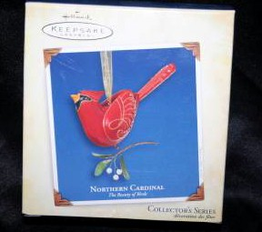 Hallmark Ornament Beauty of the Birds Cardinal #1